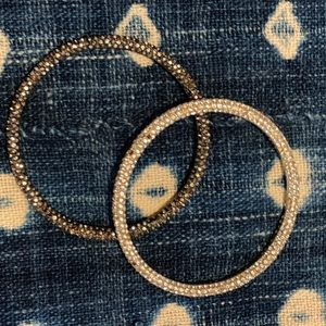 Marc by Marc Jacobs crystal bangles